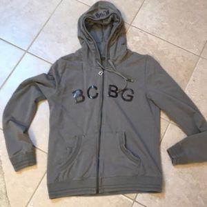 BCBG zip up with a hood.
